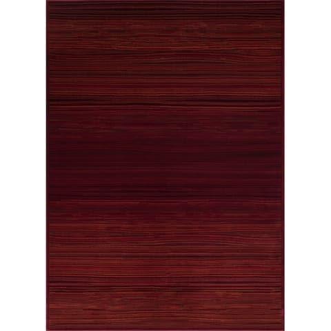 LYKE Home Abstract Style Polypropylene Area Rug (8' x 10')