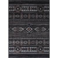 LYKE Home Tribal Style Polypropylene Area Rug (8' x 10')