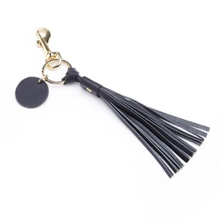 Royce Leather Tassel Key Fob