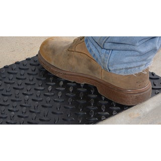 """Pro-Series Adhesive Square Rubber Step Cover (12"""" x 12"""") (Set of 12)"""