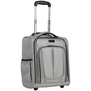 Kenneth Cole Reaction Lincoln Square 16-inch Lightweight Rolling Underseater Carry-On Suitcase