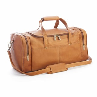 royce colombian leather 23inch luxury overnight duffel bag