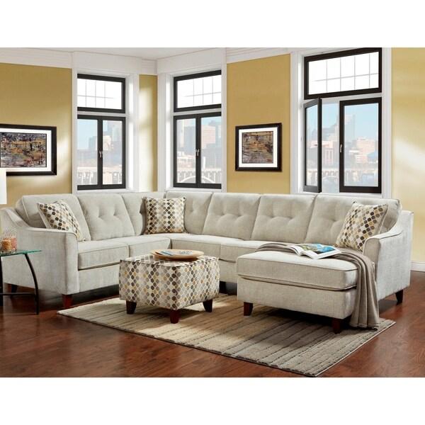 Shop Sofa Trendz Bassam Sectional Amp Ottoman Free