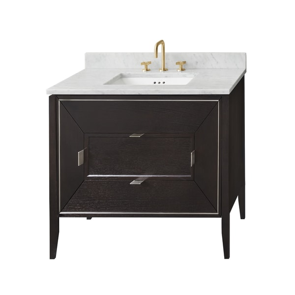 Ronbow 30 Amora Bathroom Vanity Cabinet Base In Oak Toscana