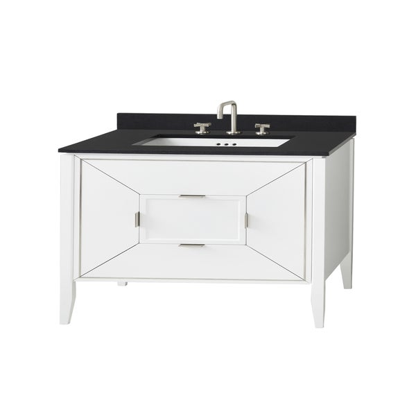 Ronbow 48 Amora Bathroom Vanity Cabinet Base In White
