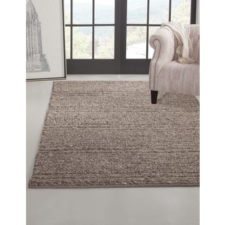 Greyson Living Allana Grey Wool Area Rug (5' x 8')