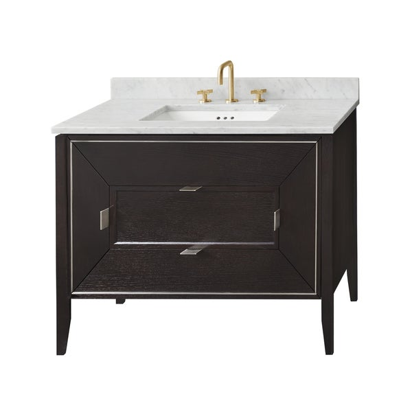 "Ronbow 36"" Amora Bathroom Vanity Cabinet Base in Oak Toscana"
