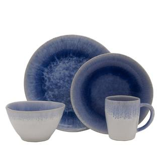 Mikasa Aventura Blue 4-piece Place Setting (Service for 1)