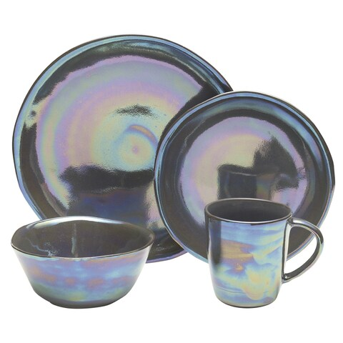 Mikasa Coronado Graphite 4-piece Place Setting
