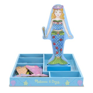 Melissa & Doug Merry Mermaid Magnetic Dress Up