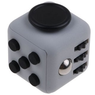 Fidget Stress Relieves Cube with Buttons, Anxiety Fidget Stress Relief Focus Toys (Pack of 2)