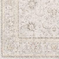 Heriot Beige Vintage Damask Area Rug (7'10 x 10'3)