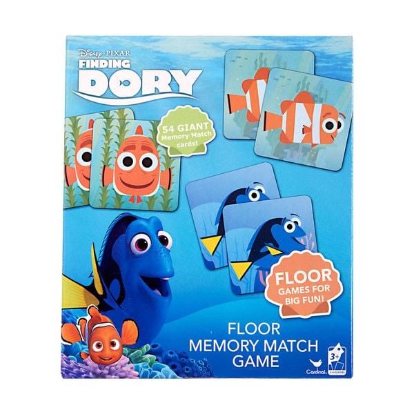 Disney's Finding Dory Floor Memory Match Game