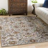 Laurel Creek Robert Timeless Medallion Area Rug (5'3 x 7'6)