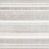 Drew Ivory Modern Stripe Area Rug - 7'10 x 10'3