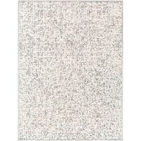 Exton Modern Abstract Ivory Area Rug - 7'10 x 10'3