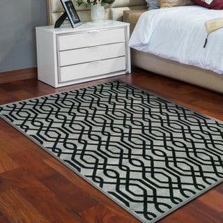 Miranda Haus Designer Gryffon Area Rug (4' X 6') - 4' x 6'