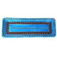 Handmade Long Serving Platter - Azure Blue (Mexico)