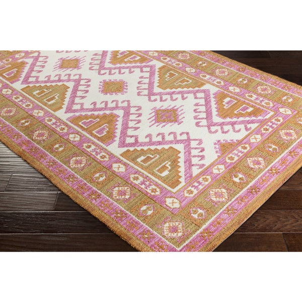 "Ezrah Traditional Southwestern Rose Area Rug (7'6 x 9'6) - 7'6"" x 9'6"""