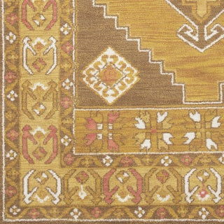 "Inez Traditional Southwestern Yellow Area Rug (7'6 x 9'6) - 7'6"" x 9'6"""