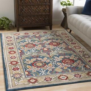 Vintage Persian Boho VPBO1 Blue Area Rug (9'0 x 12'3)