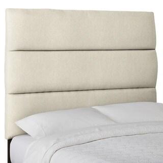 Humble + Haute Custom Textured Horizontal Tufted Upholstered Headboard