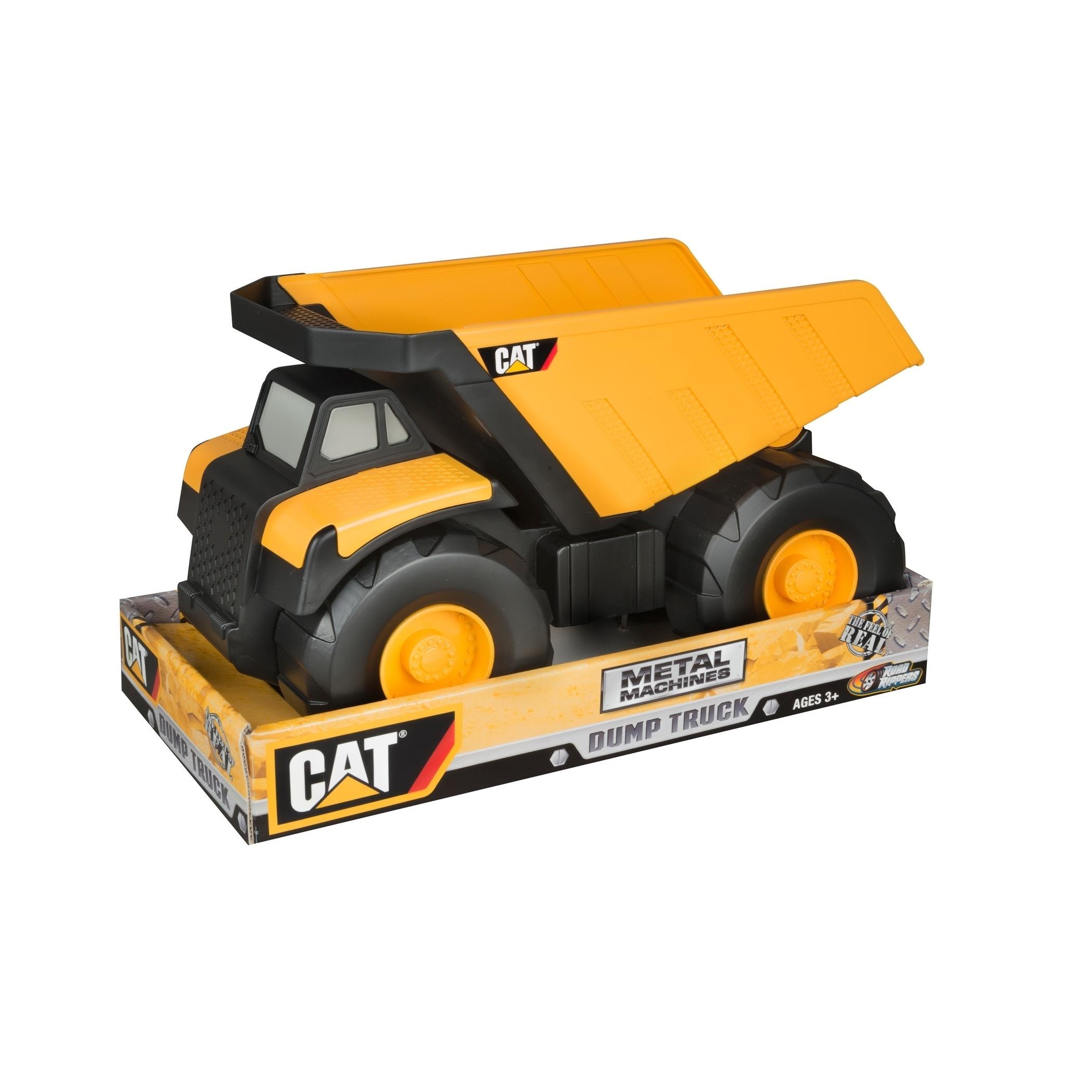 """Cabletron erpillar 16"""" Metal (Grey) Dump Truck (CAT)"""