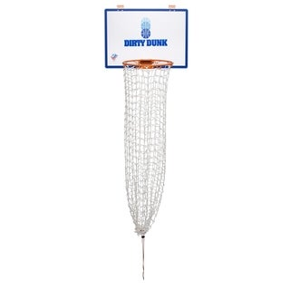 The Dirty Dunk - The Original Over-the-Door Basketball Hoop Laundry Hamper