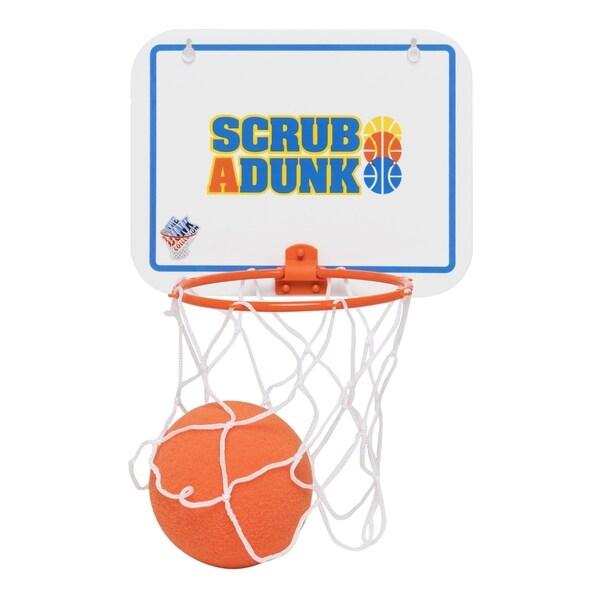 Scrub-a-Dunk - The Bathtub Basketball Hoop For Baby Ballers