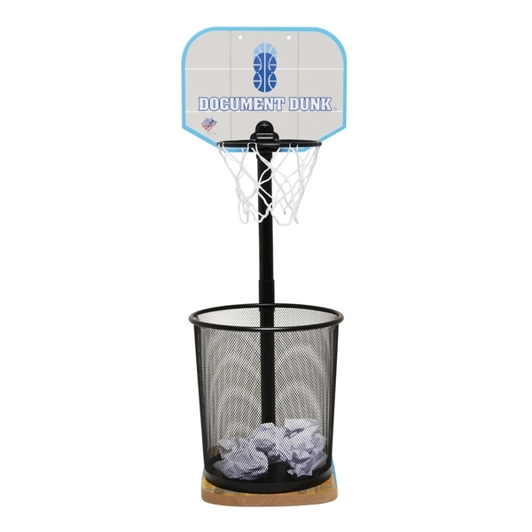Document Dunk   The Trashcan Basketball Hoop For Office All Stars