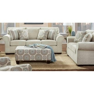 Sofa Trendz Carrick 3-pc Set- includes sofa, love and ottoman