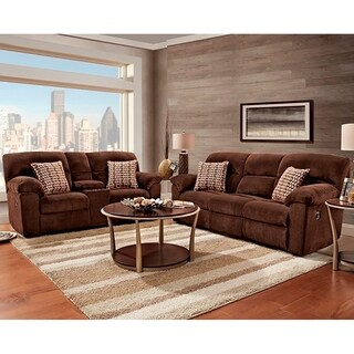 Sofa Trendz Calvin 2pc Reclining Sofa U0026 Loveseat