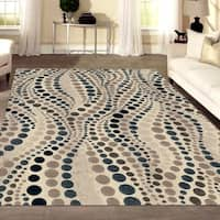 Isabel Style Bone Area Rug By Admire Living - 5'3 x 7'3