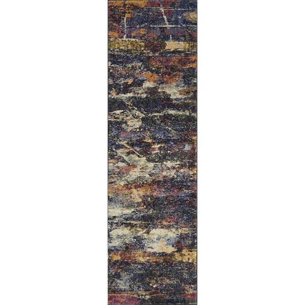 Shop Phaedra Abstract Midnight Multi Rug 2 3 Quot X 10
