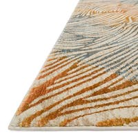 Phaedra Abstract Prism Rug - 2'3 x 10'