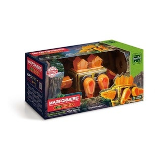 Magformers Dino Tego 20 Piece Magnetic Construction Set