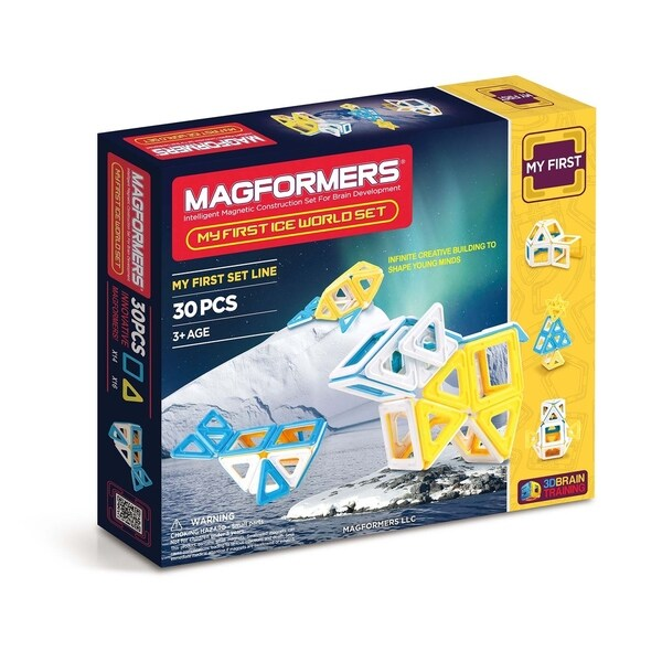 Magformers Ice World 30 Piece Magnetic Construction Set