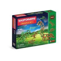 Magformers Dinosaur 65 Piece Magnetic Construction Set