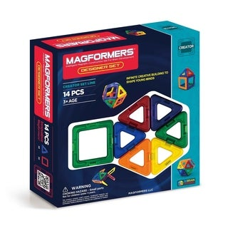 Magformers Designer 14 Piece Magnetic Construction Set