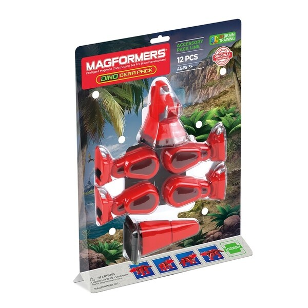 Magformers Cera Accessory  12 Piece Magnetic Construction Set