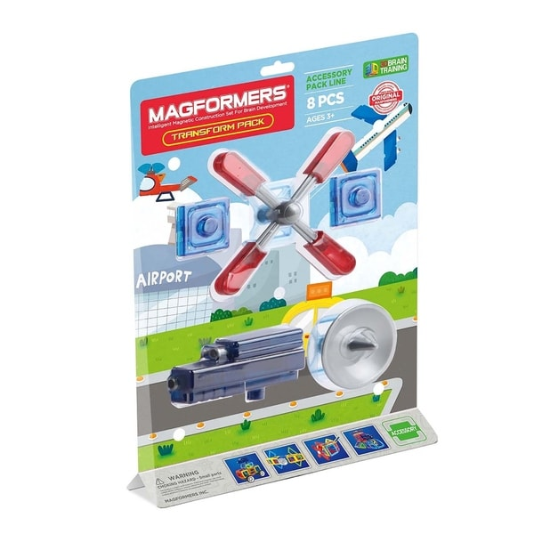 Magformers Transform Accessory 8 Piece Magnetic Construction Set