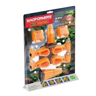 Magformers Tego Accessory 14 Piece Magnetic Construction Set