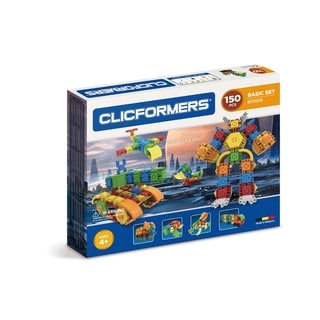 Magformers Basic Set - 150 Piece Magnetic Construction Set