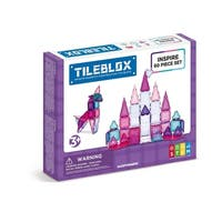 Magformers TILEBLOX Inspire 60 Piece Magnetic Construction Set