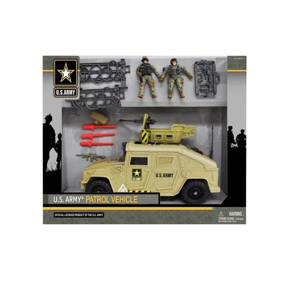 U.S. Army Patrol Vehicle Playset w/ Figures
