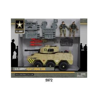 U.S. Army Urban Tank w/ 2 Soldier Figures