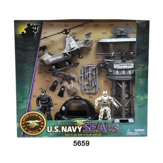 U.S. Navy Seals Observation Tower Figure Playset