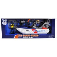 U.S. Coast Guard Chase Boat Playset w/ Figures