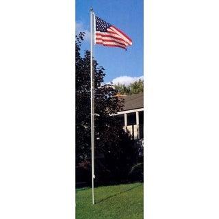 20' In-Ground Flagpole Set