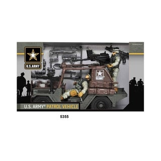 U.S. Army Urban Patrol Vehicle Playset W/ Figures
